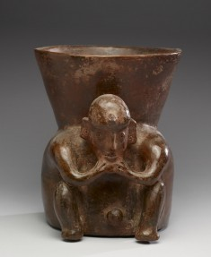 Seated Shaman (?) Effigy Vessel
