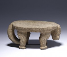 Effigy Metate (Grinding Stone)