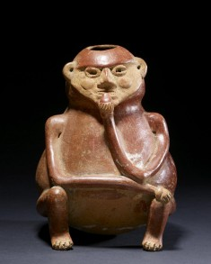 Seated Portly Figure