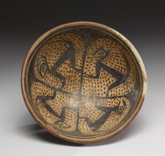 Footed Dish with Animal Motifs