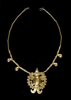 Necklace with Shamanic Effigy Pendant