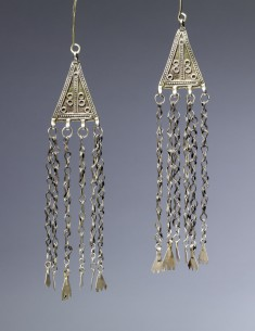 Pair of Pendants from a Woman's Headpiece