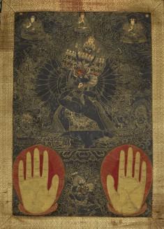 Vajrabhairava and Vajravetali