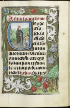 Leaf from The Hours of Duke Adolph of Cleves