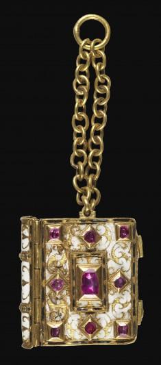 Miniature Manuscript Used as a Pendant