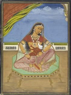 Parvati Nursing Ganesha