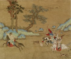 Landscape with Two Horsemen in Pursuit of a Third