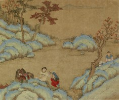 Landscape with Three Men and Two Horses