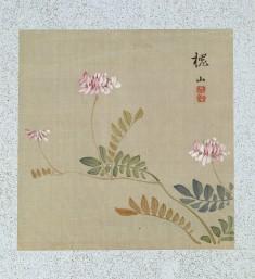 Leaf from Album Depicting Birds, Flowers, Landscapes, and Flower Pots