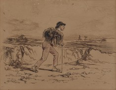 Young Man with Knapsack