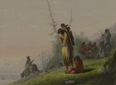 Encampment of Indians