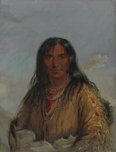 Pa-da-he: Wa-con-da -- Elk Horn: -- A Crow Indian