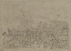 Exodus of the Jews, Caricature