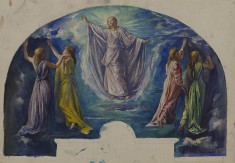 """Resurrection,"" Study for the Colonel Henry Coffin Nevins Memorial Window"