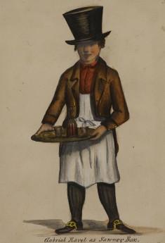 Gabriel Ravel as Sawney Box
