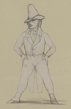 Untitled: Study for Françoise Ravel as Ventalaw