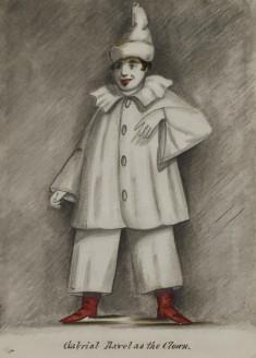 Gabriel Ravel as the Clown