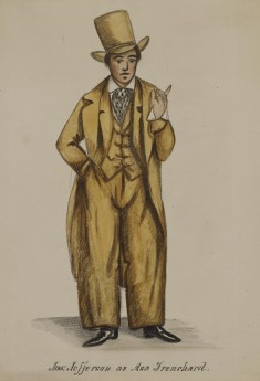Joseph Jefferson as Asa Trenchard [From Tom Taylor's 'Our American Cousin']