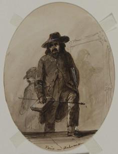 Paris, Bohemian, Embryo Scheffer or Delacroix