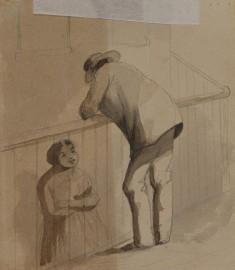 Tete-a-Tete Street Sketch