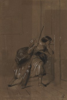"""The Marchioness (Ilustration from Dickens' """"The Old Curiosity Shop"""")"""