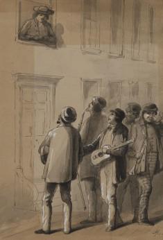Serenaders Under the Wrong Window