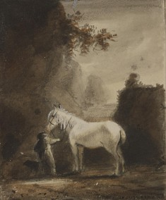 Figure and a Horse