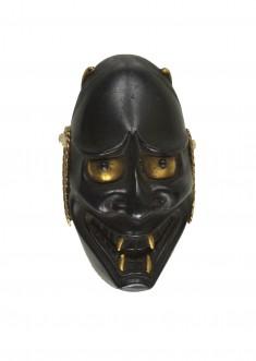 Kashira with Noh Mask