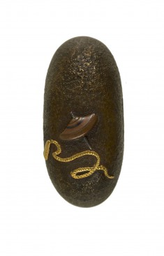 Kashira with Spinning Top