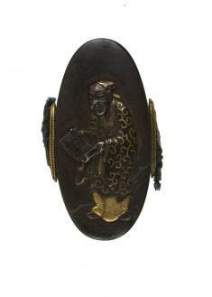 Kashira with a Chinese Scholar
