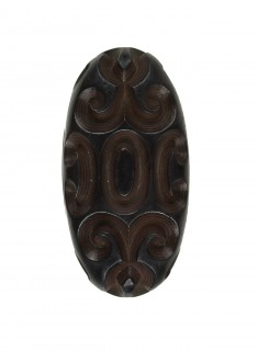 Kashira with Scrollwork Design