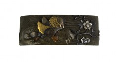 Fuchi with Mandarin Ducks