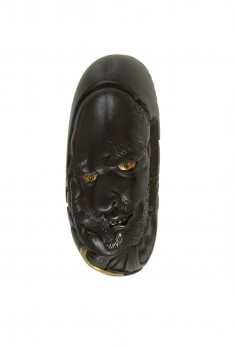 Kashira with the Face of a Man