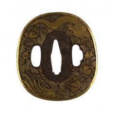 Tsuba with Mythical Animals