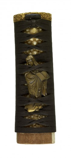 Tsuka with Clouds and Chinese Immortals