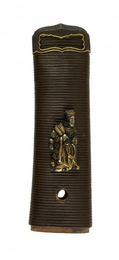 Tsuka with Chinese Figures