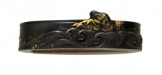 Fuchi with Rock and Waves