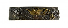 Fuchi with Dragon in Clouds