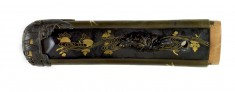 Tsuka with Dragonflies, Butterflies and Moths