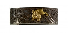 Fuchi with Rabbits and Waves