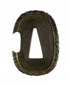 Tsuba with Clouds