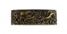 Fuchi with Clouds and Dragons