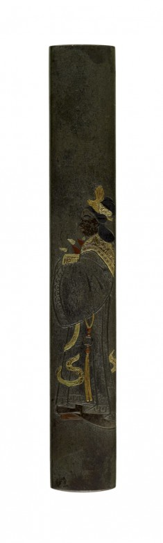 Kozuka with the Queen Mother of the West Carrying Peaches