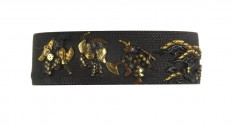 Fuchi with Dancing Figures