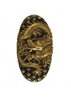 Kashira with Dragon