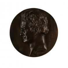 Portrait Medallion of Friedrich Wilhelm Heinrich Alexander von Humboldt (1769-1859)