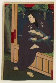 Ichikawa Udanji I as Funagoshi Juemon