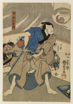 Iyemon in the Yotsuya ghost story