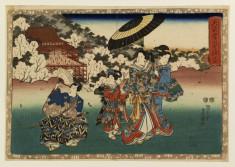 Mitsuuji views Kiyomizudera