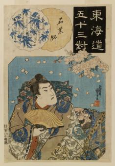 Yoshitsune and Benkei at Suma